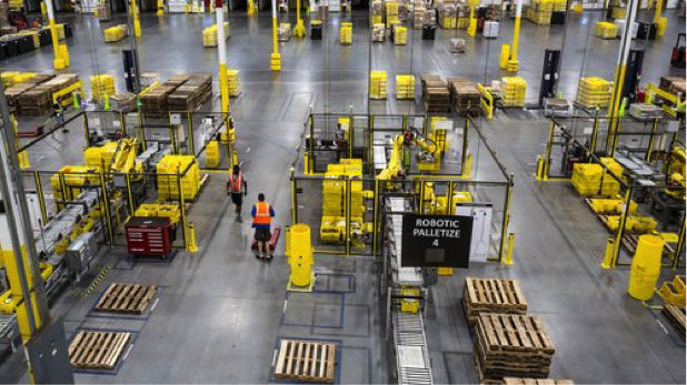 Amazon's New Patented Wristbands Can Track Warehouse Worker's Productivity