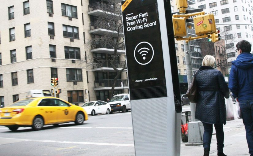 Free Wi-Fi Kiosks to Replace Phone Booths in NYC