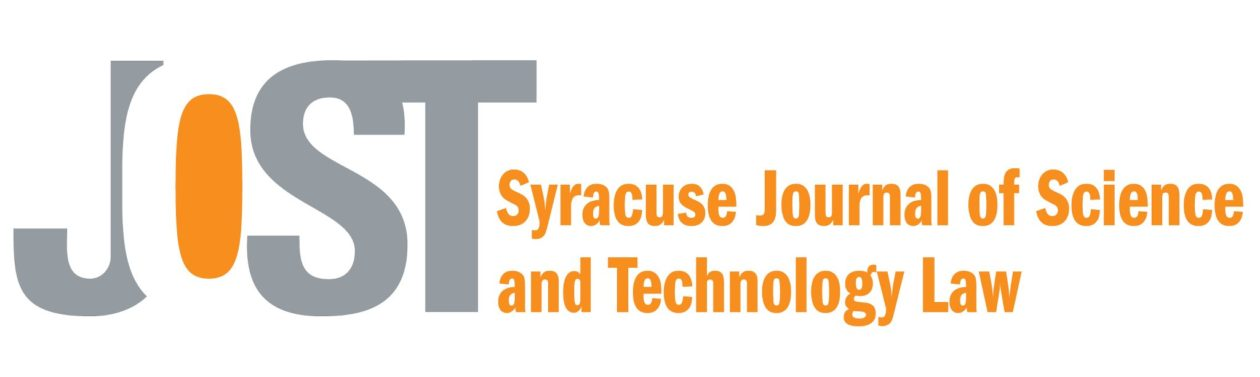 Journal of Science and Technology Law